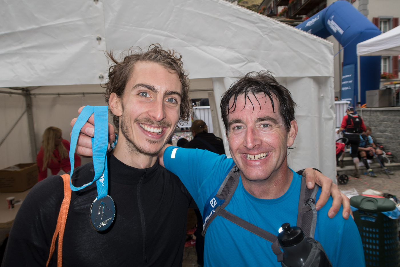 Paul and David after the Ultraks 46K