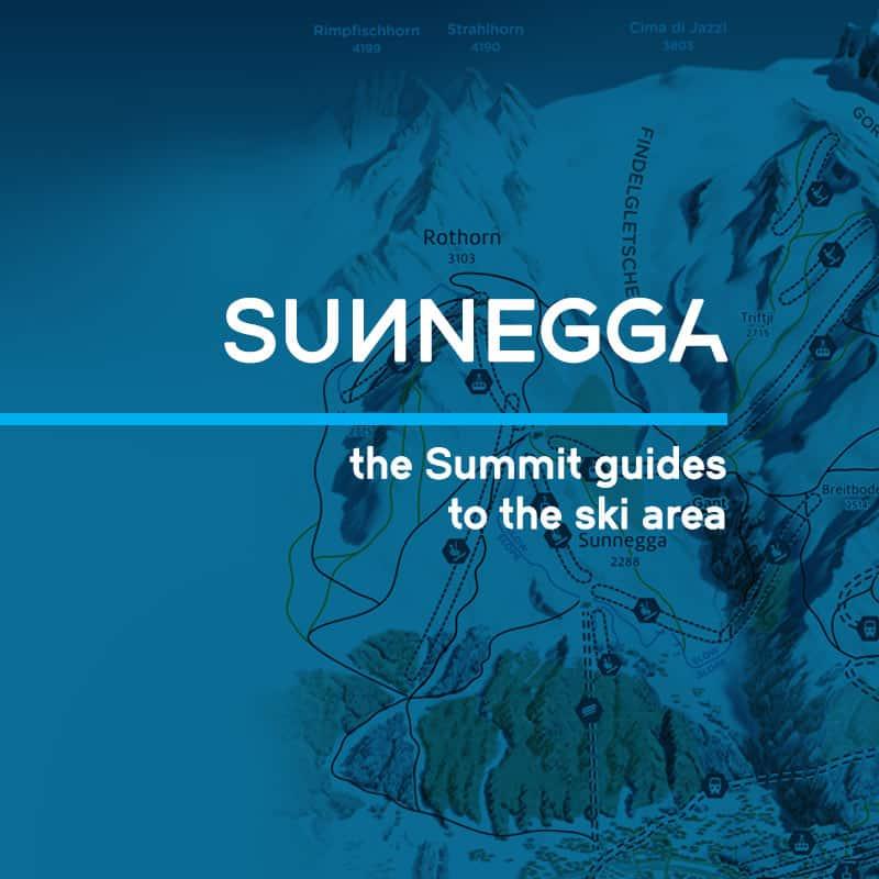 Skiing at Sunnegga